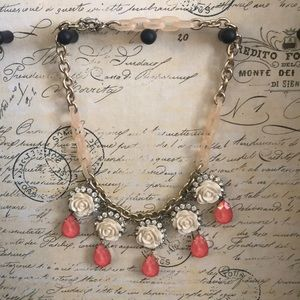 Anthropologie Jeweled Necklace